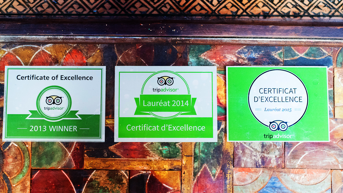 Riad Laksiba Certificate of Excellence 2013-14-15